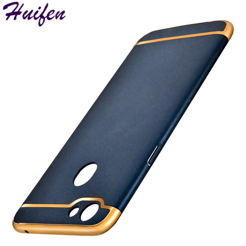 For OPPO F5 Case A73 A73T Luxury Back Cover Electronic Plating 3 in 1 Hard PC Hybrid Caus For OPPO F 5 Phone Bag Shell (XX428)
