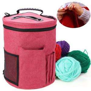Image 1 - TPFOCUS Casket Storage Bag Crochet Wool Container Large Capacity Knitted Container