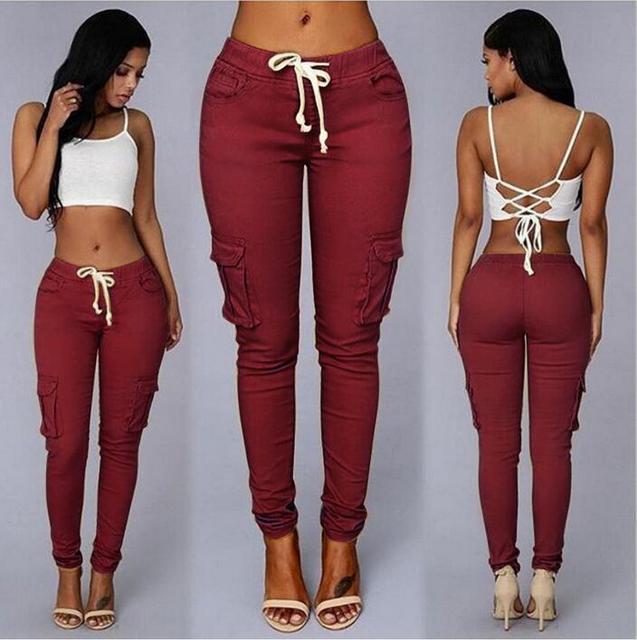 256be70f7 2017 Hot sale lady bag more casual pants women fashion pants 6 colors size  S-2XL