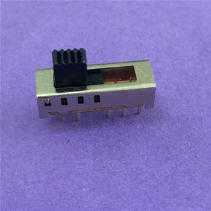 Image 2 - 10PC ST091Y SS24E01 G5 Slide Switches Vertical 10 Pin 4 Position Toggle Switch Flashlight Switch 2P4T DP4T DC 50V 0.5A On Sale