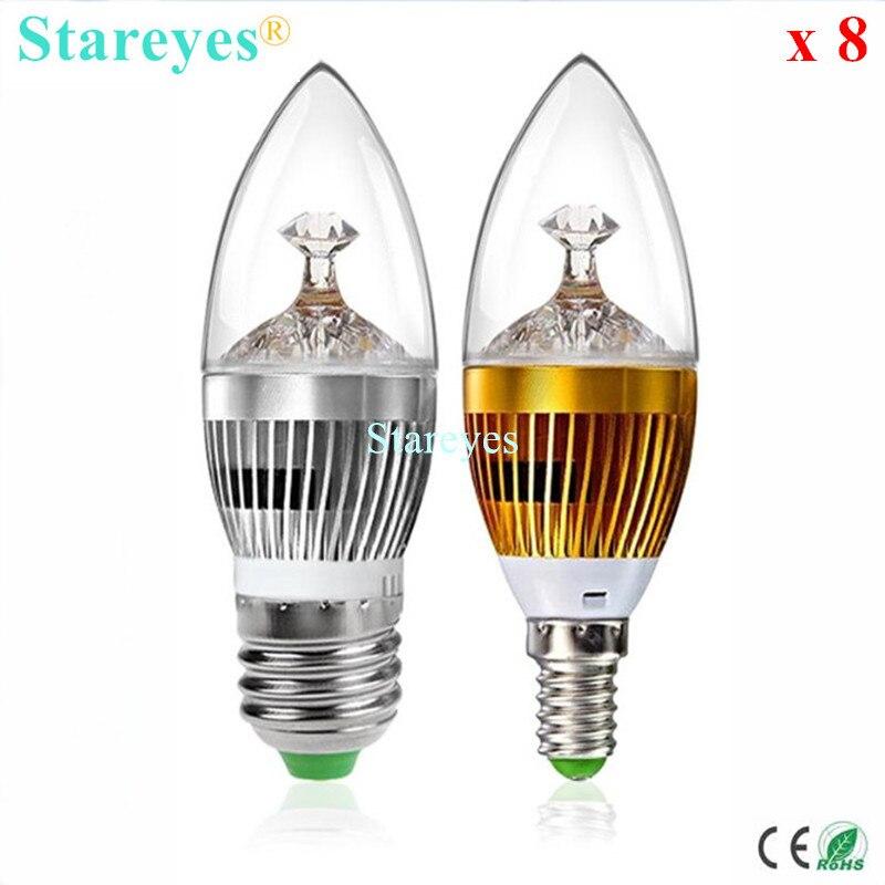 Power ° 3x1w vatios gu10 emisor 45 LED cree 3w240lm25 8wnvmN0O