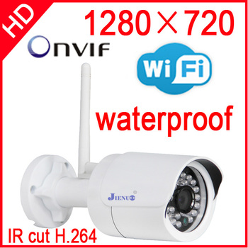 ip camera wireless 720p wifi security system outdoor waterproof weatherproof video capture surveillance hd onvif cctv Infrared hd 720p wireless ip camera wifi onvif video surveillance security cctv network wi fi camera infrared ir