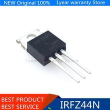 100% ใหม่นำเข้าเดิมIRFZ44NPBF IRFZ44N IRFZ44 TO 220 Field Effectทรานซิสเตอร์MOSFET MOSFT 55V, 41A