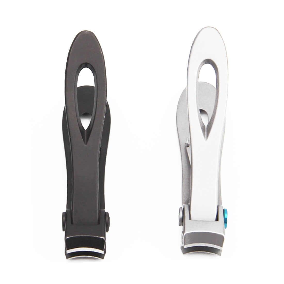 Ножницы для ногтей Toenail ClippersWide рот триммер для резки ногтей для толстой nailsнержавеющая сталь машинка для стрижки ногтей