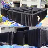 10 Meters giant inflatable laser tag inflatable laser maze for children playground game sale