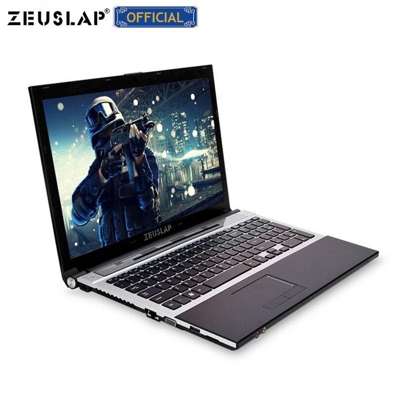 15.6 polegada 8gb de ram 500gb HDD intel core i7 1920x1080 full hd de tela do Windows 10 system com DVD ROM Notebook PC Computador Portátil