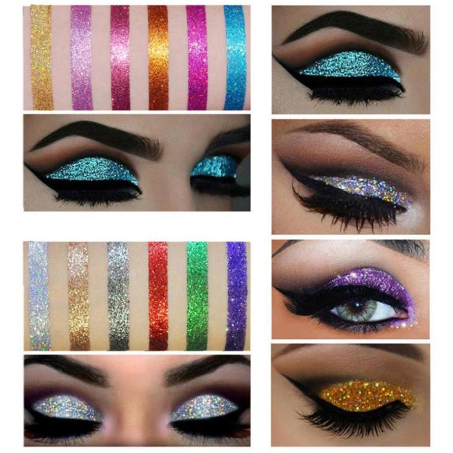 Aliexpress.com : Buy 1 Pcs Quicksand Makeup Eye Palette 9