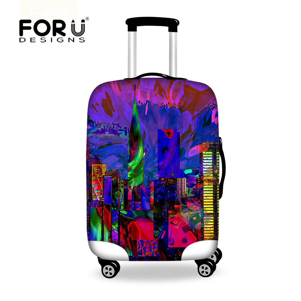 Luggage & Bags Luggage & Travel Bags Dispalang Black Leather Sofa Design Travel On Road Luggage Protective Cover Case For A Suitcase Dust Rain Covers For 18-30 Inch