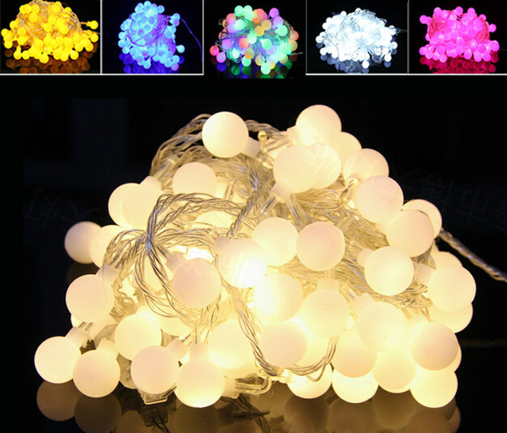 NEW 30M 300 LEDs 220V Waterproof IP65 Outdoor Multicolor LED String Lights Christmas Lights Holiday Wedding Party Decotation