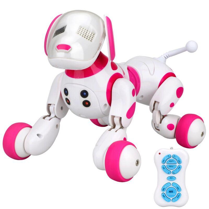 Mignon Animaux Chien Robot Animal Électronique Intelligent Jouet Pour Chien Intelligent Sans Fil Parler Télécommande Robot Enfants Cadeau Cadeau D'anniversaire - 4