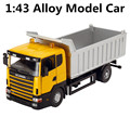 1:43  alloy Engineering vehicle models, high simulation toy car with sound and light back to power, free shipping