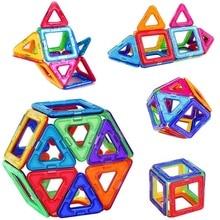 Big size Magnetic Blocks DIY building single bricks designer accessory construct Magnet model Educational toys For Children Kids