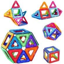 גדול גודל מגנטי בלוקים DIY בניין יחיד לבני מעצב אבזר לבנות מגנט דגם צעצועים חינוכיים לילדים ילדים