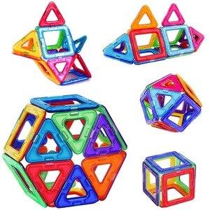 Image 1 - Große größe Magnetische Blöcke DIY gebäude einzelnen ziegel designer zubehör konstruieren Magnet modell Pädagogisches spielzeug Für Kinder Kinder