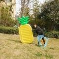 190 cm Frutas Abacaxi Gigante Inflável Natação Brinquedos Piscina de Água Inflável Diversão Raft Float Colchão Inflável Float