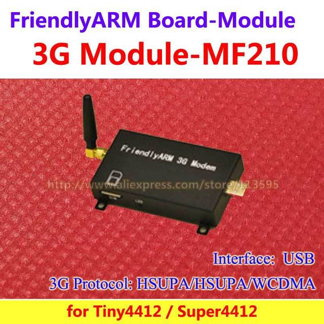 Módulo FriendlyARM 3G WCDMA, interfaz USB, para TINY4412 Super4412, para la Placa de Desarrollo