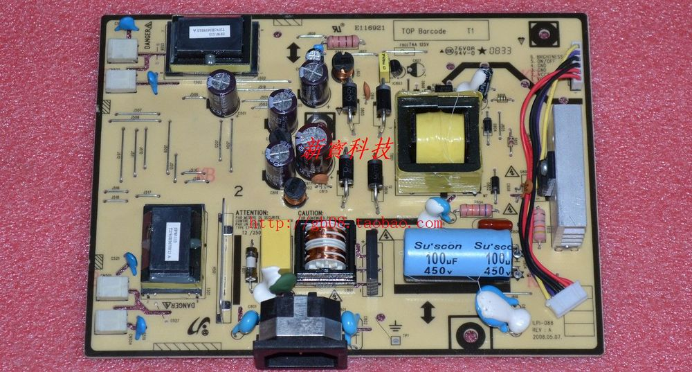 Free Shipping> 943NW 943NW PWS pressure plate power board ILPI - 088 (ILPI-178 Universal )-Original 100% Tested Working free shipping original power board ilpi 159 492561400100r condition new original 100