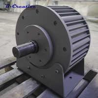 Precio de fábrica 5000 w/5KW 220v 380v generador de imán permanente generador de energía eólica baja RPM AC 220V 380V trifásico para uso doméstico