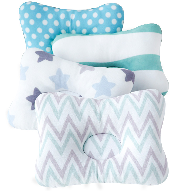 Muslinlife Head Protection Cushion Pillow Newborn Baby Kids Pillows Animal Printed Cotton Kids Pillow Sleep Positioner Dropship(China)