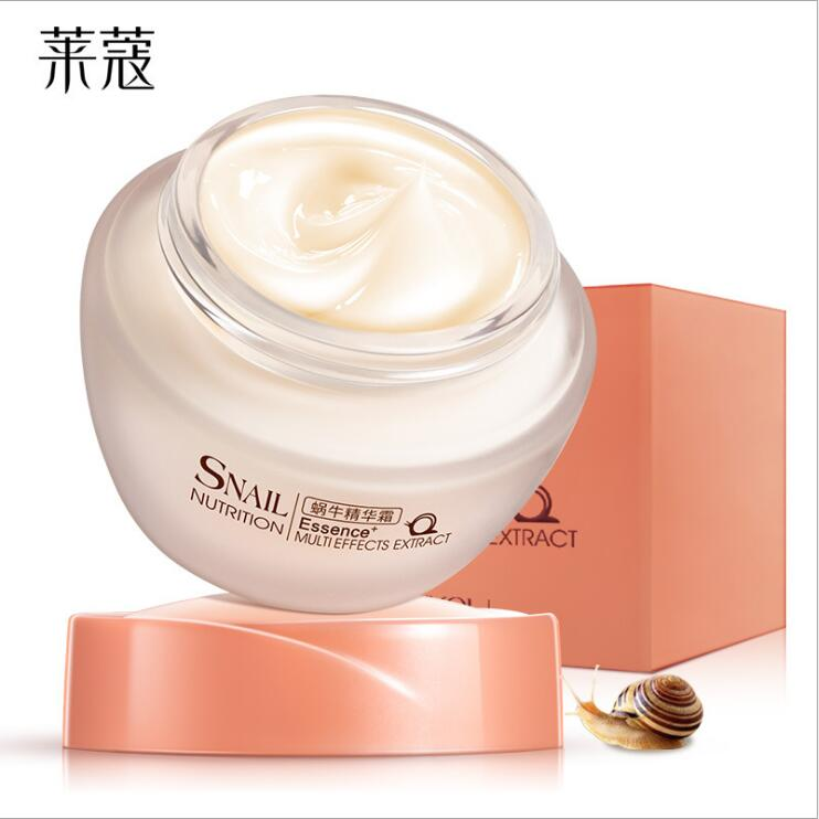 Big Brand Natural Snail Face Cream 50g Nutrition Essence Extract Face Cream Moisturizing Whitening Oil Control Acne Treatment