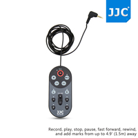 JJC 1.5m SR-RCH6 Wired Remote Control Controller for ZOOM H6 Handy Recorder Replaces ZOOM RCH6