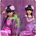 Top Púrpura Niños Chinos Antiguos Muestran Traje de Princesa de Hadas Dramatúrgica Robe Dress trajes de danza Clásica para el día del niño