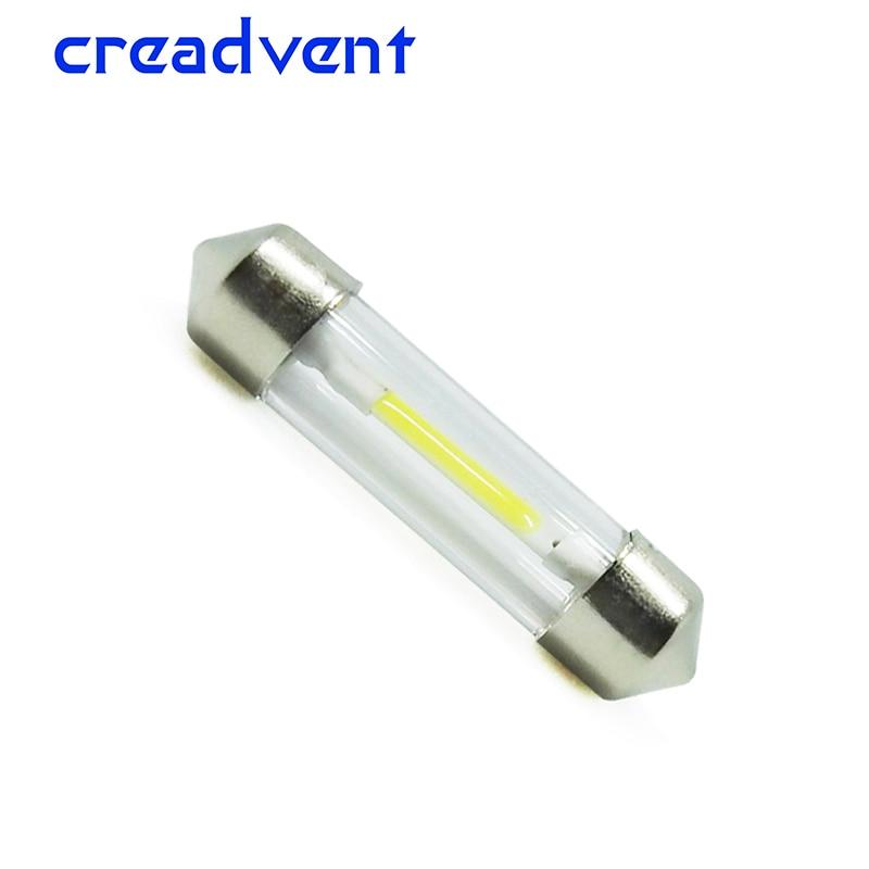 цена на Nanoshine Led C5W 31mm 36mm 39mm 41mm cob glass Car Interior light auto Festoon lamp vehicle Dome Reading door bulb 12V DC White