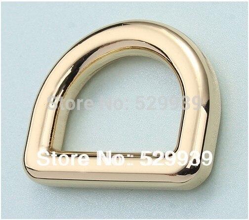 5.0mm Webbing 30.2*25mm(3/4 inside) webbing Fat Webbing Metal D Ring for DIY bags,shoes