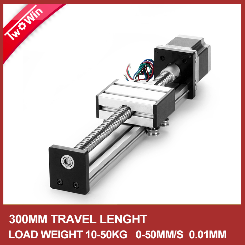 500mm Linear Guide Rail SFU1204 Linear Guide CNC Stage Linear Motion Moulde Nema 17 Stepper Motor