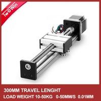 500mm Linear Guide Rail SFU1204 Linear Guide CNC Stage Linear Motion Moulde Nema 17 Stepper Motor