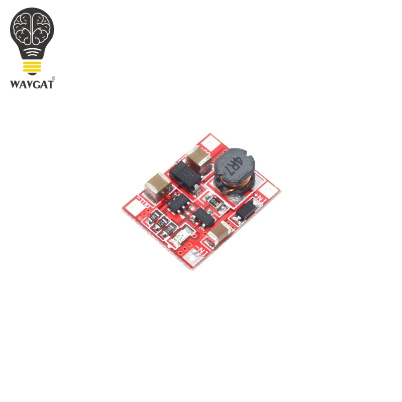 DC-DC Boost Power Supply Module Converter Booster Step Up Circuit Board 3V to 5V 1A Highest Efficiency 96% Ultra Small WAVGATDC-DC Boost Power Supply Module Converter Booster Step Up Circuit Board 3V to 5V 1A Highest Efficiency 96% Ultra Small WAVGAT