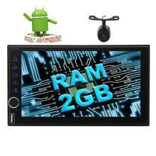 Car Stereo Octa-core Android 7.1 Autoradio Bluetooth Headunit support GPS Navigtaion Wifi 4G/3G FM AM Radio HD+Reverse Camera