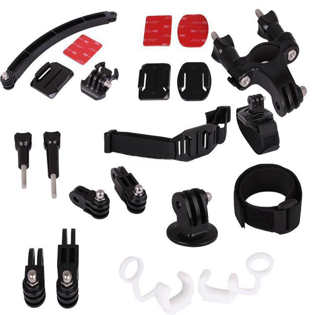 NEW 8 in 1 Mount Riding Accessories Set kit for Gopro HD Hero 1 2 3