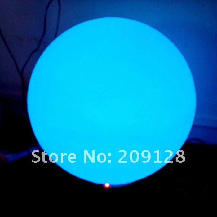 DHL gratis frakt 20cm fargerik ledet ball lys for fest dekorasjon - Ferie belysning - Bilde 5