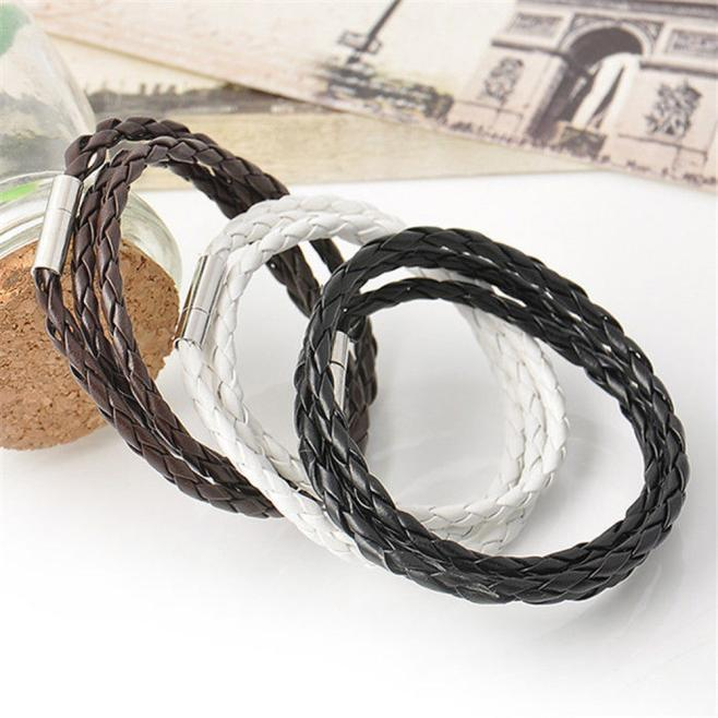 Men Leather Bracelets 2