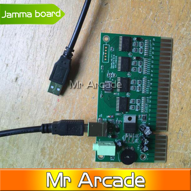 2 Players PC USB to Jamma Acade Converter PCB Board