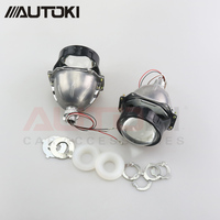 Autoki Car Styling Universal AUTO Bi LED Projector Lens With Chip 3.0 inch High and Low Beam Headlight Retrofit for H4 H7 H11