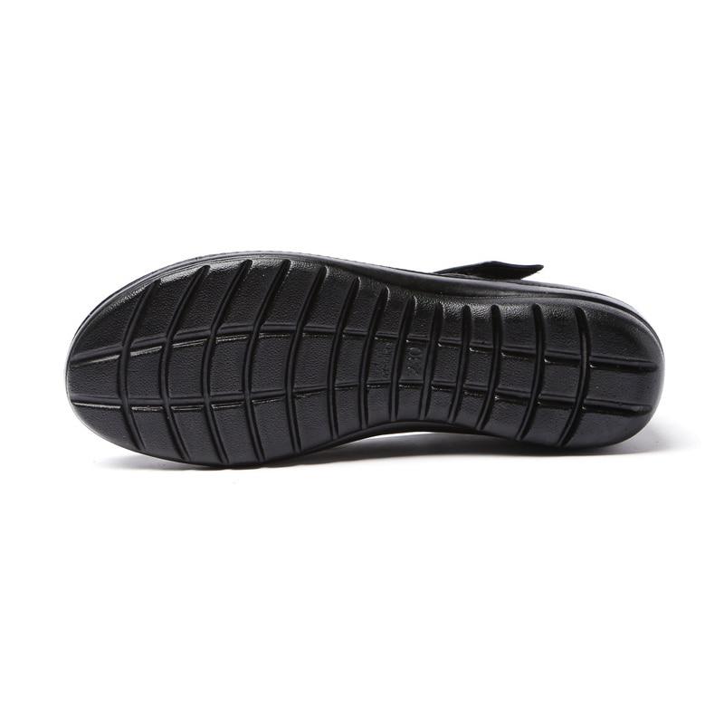Image 3 - BEYARNENewSpring Autumn Women Flats Shoes Fashion Round Toe Sweet Comfort Faux LeatherWomen MaryJanes  Buckle Strap dropshippingWomens Flats   -