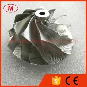 Image 1 - GT15 25 702549 0008HF V1 גבוהה Preformance טורבו אלומיניום 2618/Piont כרסום/בילט מדחס גלגל 50.20/65.00mm 10 + 0 להבים