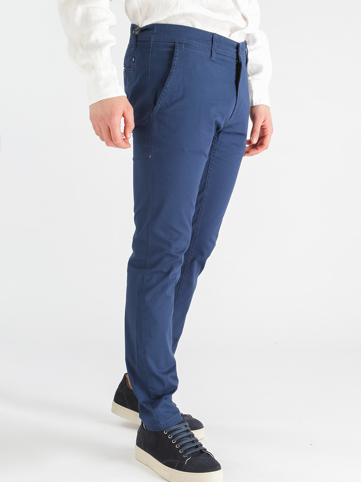 Pants Slim Fit Stretch Cotton