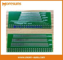 Free Ship 100pcs/lot Powerful LCM,TFT LCD universal test board,adapter plate,46p 0.5 -1.05 spacing pcb board
