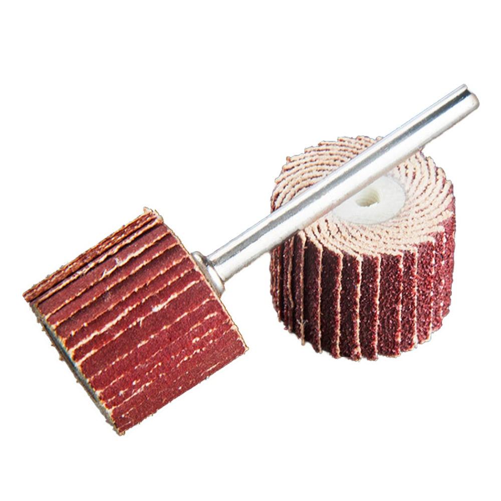 Flap Wheels Brush Sanding Rotary Tool 10PCS Small Flap Wheels Sanding Grinding Dremel Accessories Grit 240#