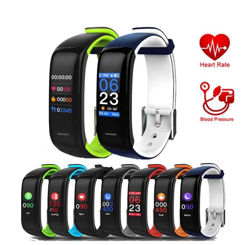 P1 Plus gps montre sport suivi fréquence cardiaque couleur écran tensiomètre intelligent bracelet montre hommes femmes sportwatch ios