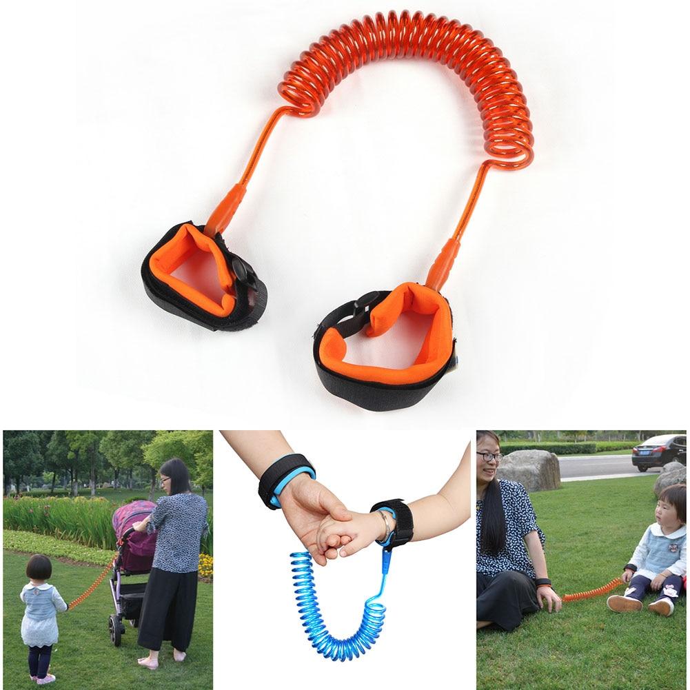 100% Wahr Heißer Verkauf Kinder Kind Anti-verloren Sicherheit Leine Gurt Seil Traktion Handgelenk Link Harness Für Outdoor