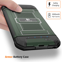FLOVEME 3000mAh Battery Charger Case For IPhone 6 6S IPhone 7 Armor Phone Cases Power Bank
