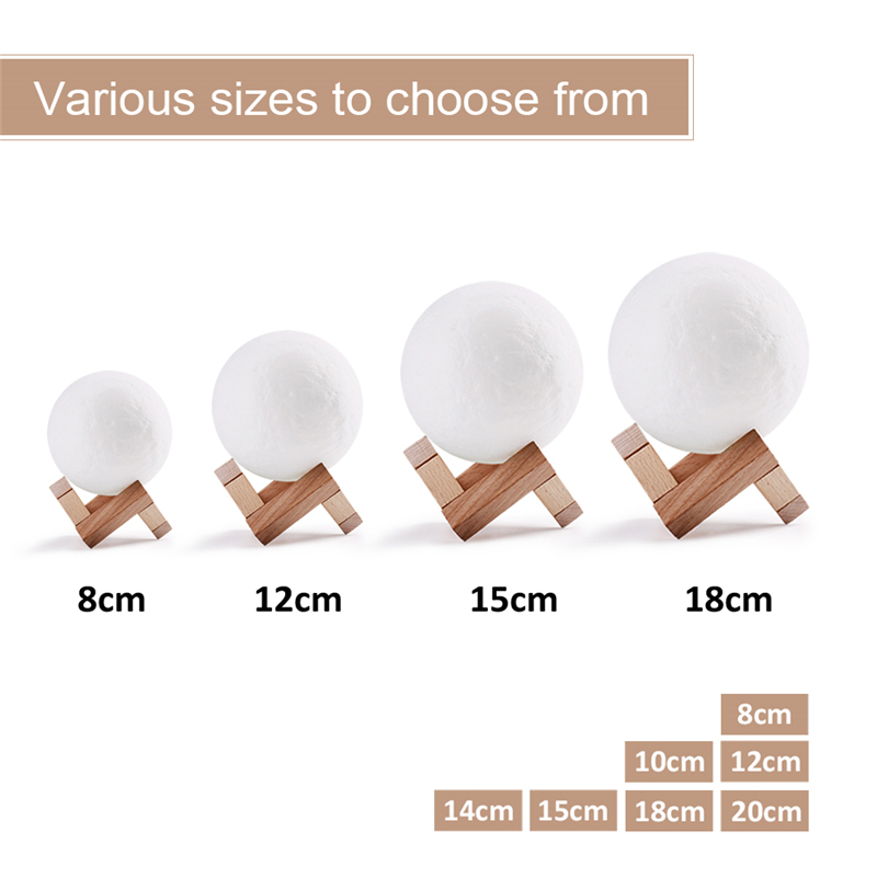 3D Print Moon Lamp (3)
