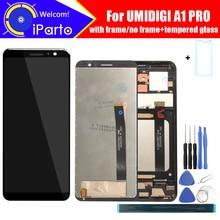 5.5 بوصة UMIDIGI A1 برو شاشة الكريستال السائل + مجموعة المحولات الرقمية لشاشة تعمل بلمس 100% الأصلي جديد LCD + اللمس محول الأرقام ل A1 برو + أدوات