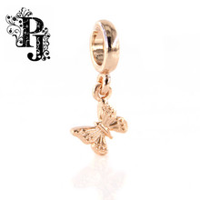 New Endless Jewelry Charm Butterfly in the Sky Rose Gold for Endless Bracelet SJSB1309
