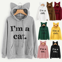 cosplay hooded sweater new European and American personality fresh cool hooded letters sweater shirt female