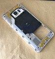 Genuine para samsung galaxy note 5 n920 placa média habitação Chassis Quadro Moldura + Botão Lateral + Camera Lens + NFC
